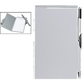 Logo Blocco Note Pad and Pen Holder
