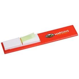 Monogrammed Bookmark Flag Ruler