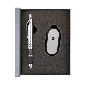 Brilliant Book Light Ballpoint Gift Set