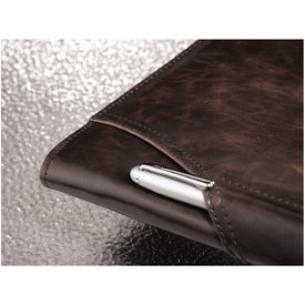 Brixen Zippered Padfolio for Your Organization