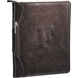 Brixen Zippered Padfolio