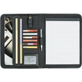 Branded Burke Writing Pad