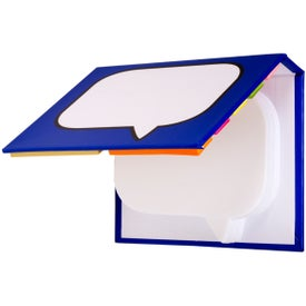 Burst Sticky Book Branded with Your Logo