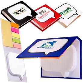 Burst Sticky Book for Promotion
