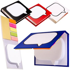Logo Burst Sticky Book (250 Sheets)