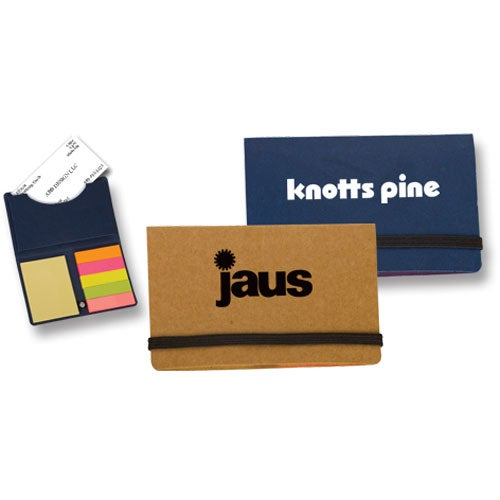 Business Card Holder and Sticky Notes