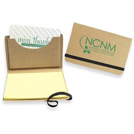 Business Card Holders with Sticky Notes Branded with Your Logo