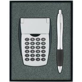 Calculator/Ballpoint Pen Gift Set for Your Organization