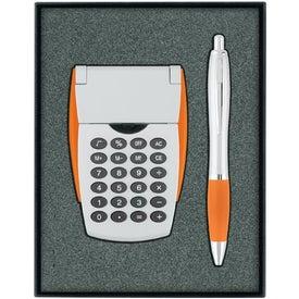 Calculator/Ballpoint Pen Gift Set for Your Church
