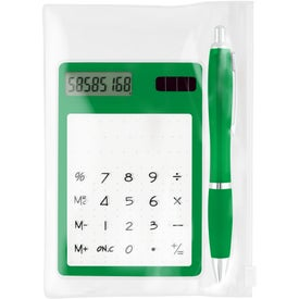 Calculator/Ballpoint Gift Set