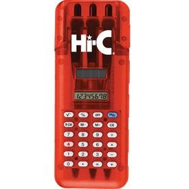 Promotional Calculator Pen Set
