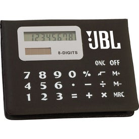 Monogrammed Calculator Sticky Note Pad