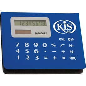 Customized Calculator Sticky Note Pad