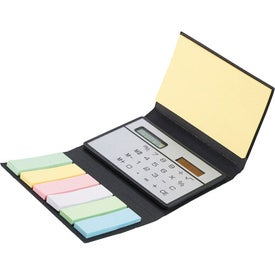 Custom Calculator Sticky Notes Booklet