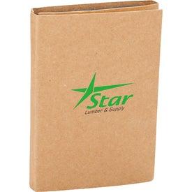 Branded Calculator Sticky Notes Booklet