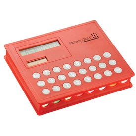 Calculator and Sticky Note Case for Advertising
