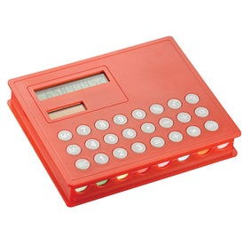Calculator and Sticky Note Case Imprinted with Your Logo