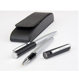 Callaway 2 Tone Ballpoint Pen Rollerpoint Gift Set