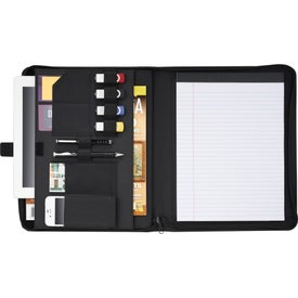Carbon Fiber Tech Padfolio for Your Company