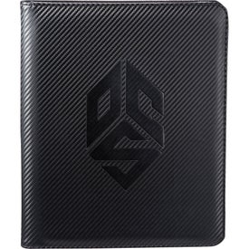 Carbon Fiber Tech Padfolio Branded with Your Logo