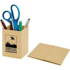 Cardboard Pen Holder with Your Logo