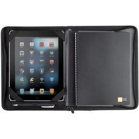 Case Logic Conversion Zippered Journal for iPad Printed with Your Logo