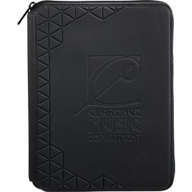 Monogrammed Case Logic Hive Tech Padfolio