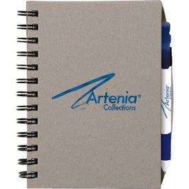 Personalized Chipboard Cover Notebook