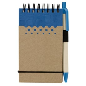 Printed Chou Mini Jotter and Pen