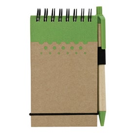 Imprinted Chou Mini Jotter and Pen