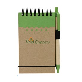 Chou Mini Jotter and Pen Branded with Your Logo