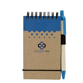 Chou Mini Jotter and Pen Imprinted with Your Logo