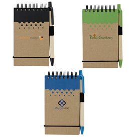 Chou Mini Jotter and Pens (50 Sheets)