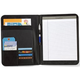 Promotional Cityscape Leather Writing Pad