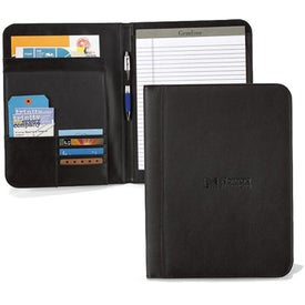 Cityscape Leather Writing Pad for Promotion
