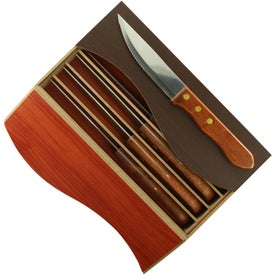 Clair Steak Knife Set Printed with Your Logo