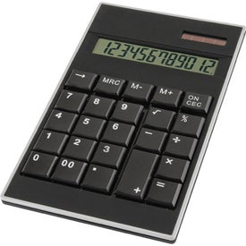 Custom Class Black Desk Calculator