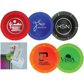 Advertising Clip A Round Card Holder