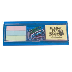 Clip and Note Box with Your Logo