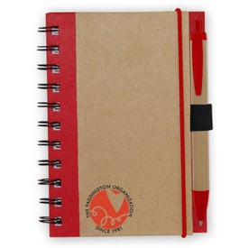 Color Edge Eco Journal Imprinted with Your Logo