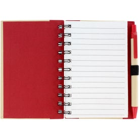 Color Edge Eco Journal with Your Slogan