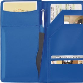 Colorplay Leather Travel Organizer Branded with Your Logo
