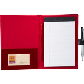 Monogrammed Color Step Jr Padfolio