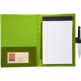 Custom Color Step Jr Padfolio