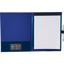 Promotional Color Step Padfolio