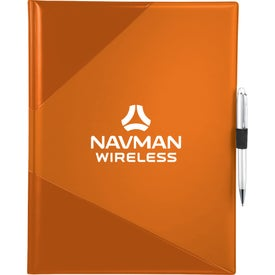 Color Step Padfolio with Your Logo