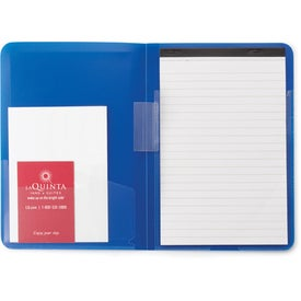 Colorplay Thin Padfolio for Advertising