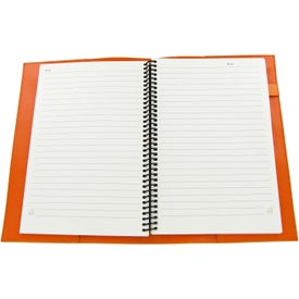 Colorplay Leather Journals Imprinted with Your Logo
