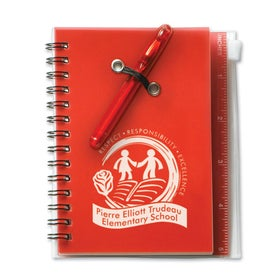 Company Compact Eco Journal with Pen and Recycled Paper