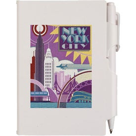 Composition Jotter Pad with Pen for your School